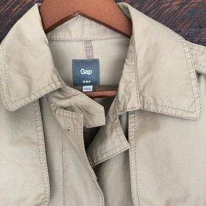 Tan Gap trench coat